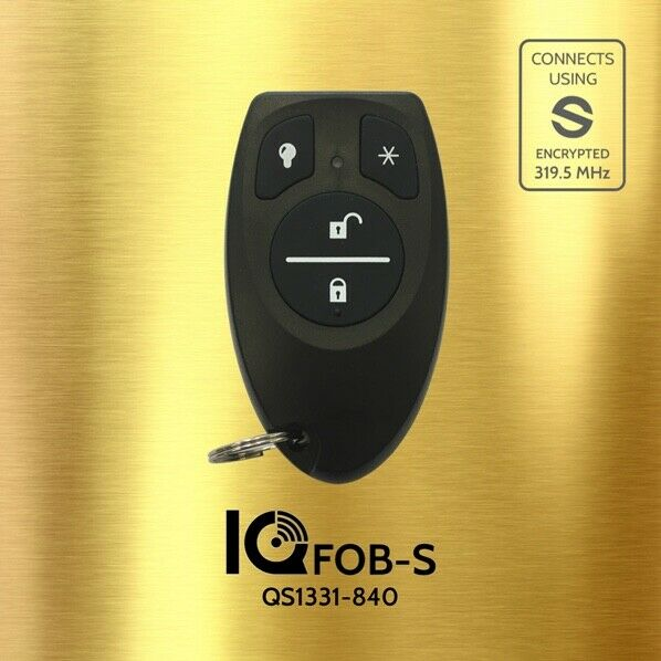 Qolsys IQ S-Line Encrypted Keyfob (QS1331-840) - Designer Entryway door locks access control intercoms home automation