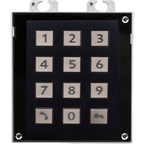 2N Numeric Keypad Module (Nickel) access control - Designer Entryway door locks access control intercoms home automation