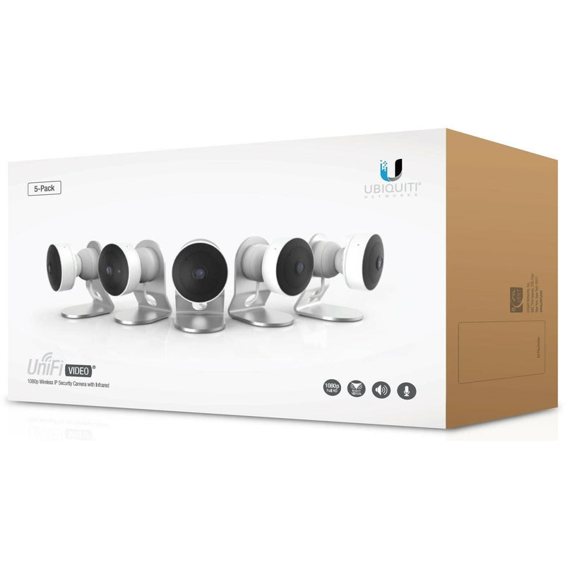 Ubiquiti Networks [5-Pack] UniFi Video G3-Micro Wireless Camera (UVC-G3-MICRO-5). - Designer Entryway door locks access control intercoms home automation