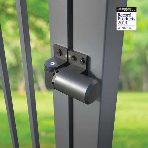 D&D Technologies Surface Mounted, Steel Hydraulic Self-Closing Hinge F/ Gates - Designer Entryway door locks access control intercoms home automation
