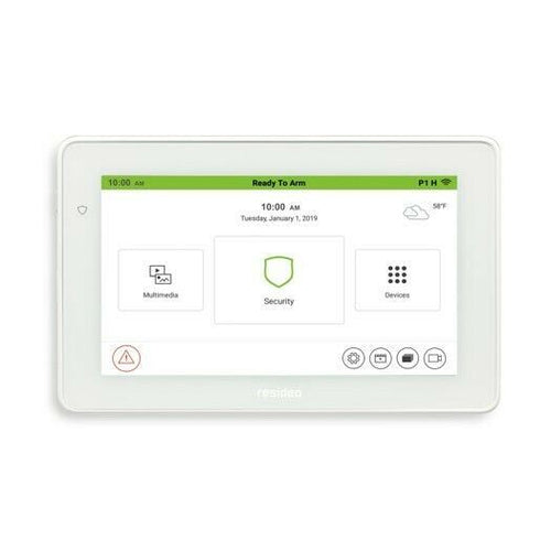 "Resideo TUXEDO controller 7"" Colour Touchscreen Keypad TUXEDOWC. - Designer Entryway door locks access control intercoms home automation"