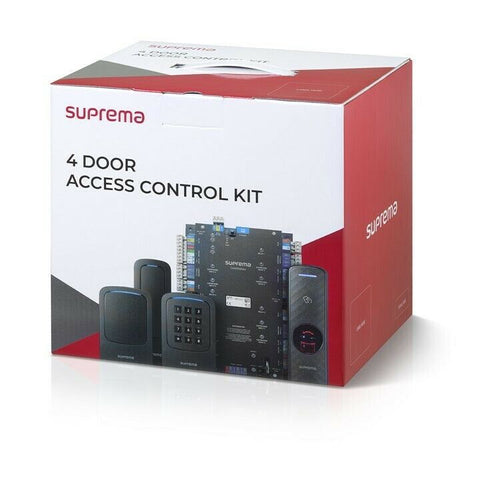 Suprema CST-4DR-D2M CoreStation 4-Door Access Controller 4-RFID Readers Kit. - Designer Entryway door locks access control intercoms home automation
