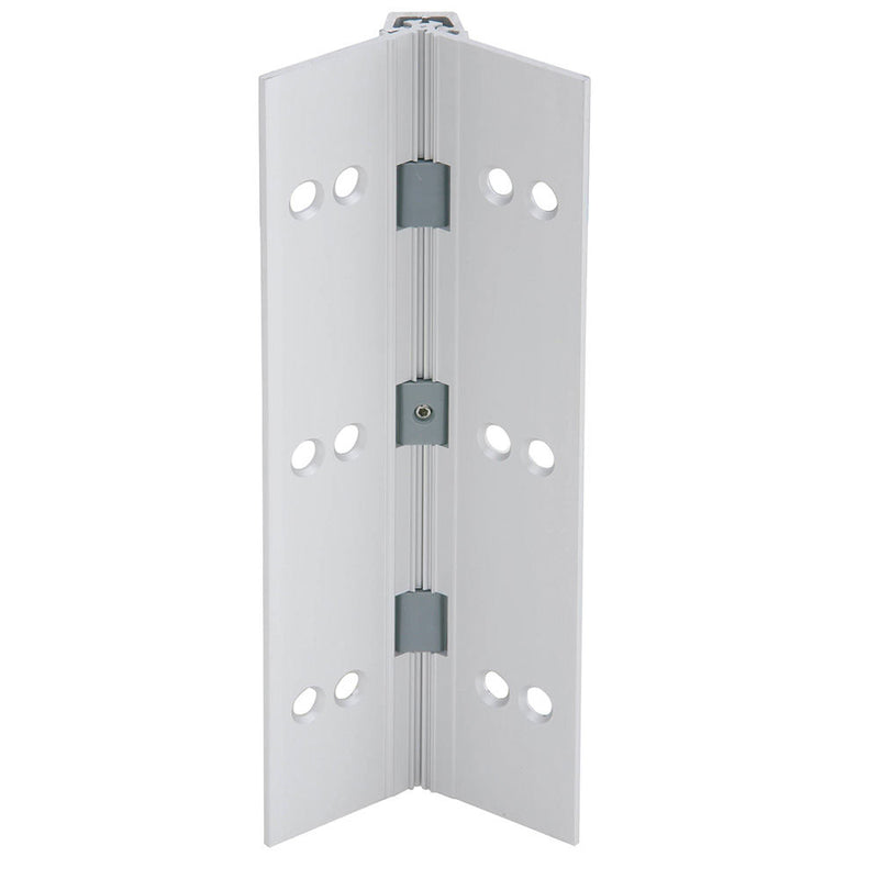 Ives 112HD-95-28 Full Mortise Aluminum Geared Continuous Hinge - Designer Entryway door locks access control intercoms home automation
