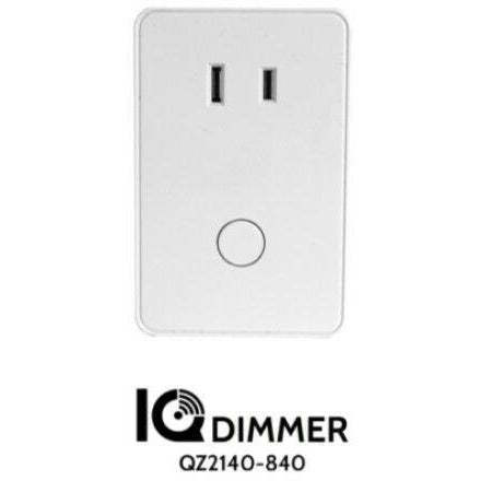QOLSYS QZ2140-840  IQ plug in lamp module dimmer Z-Wave smart home - Designer Entryway door locks access control intercoms home automation