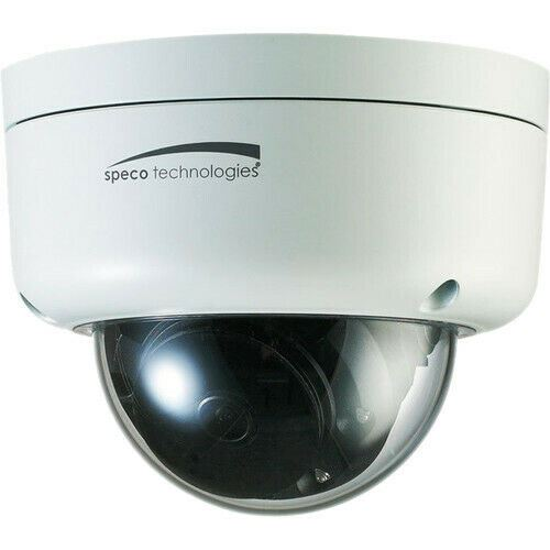 Speco Technologies O3FD8M 3MP Outdoor Network Dome Camera w/Night Vision (White). - Designer Entryway door locks access control intercoms home automation