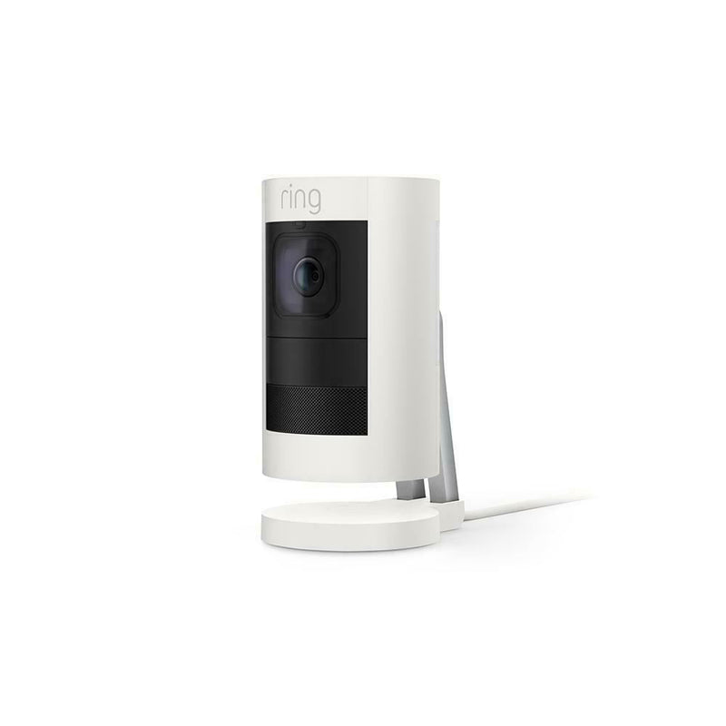 Ring 8SSPE8-WEN0 Stick Up Cam Elite  2nd Generation White - Designer Entryway door locks access control intercoms home automation