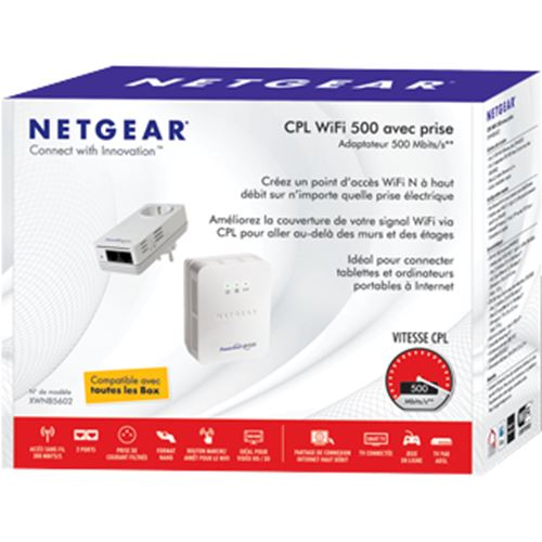 NETGEAR XWNB5602-1A2NAS Powerline 500 PassThru WiFi Access Point. - Designer Entryway door locks access control intercoms home automation