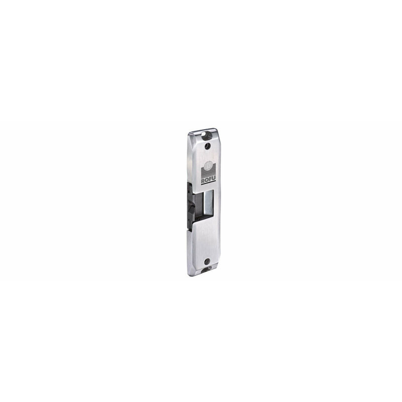 CDVI ROFU 2490 fully surface rim mount electric strike 12/24VDC - Designer Entryway door locks access control intercoms home automation