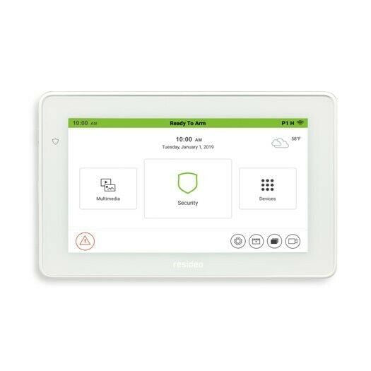 "Honeywell TUXEDO controller 7"" Colour Touchscreen Keypad TUXEDOW - Designer Entryway door locks access control intercoms home automation"
