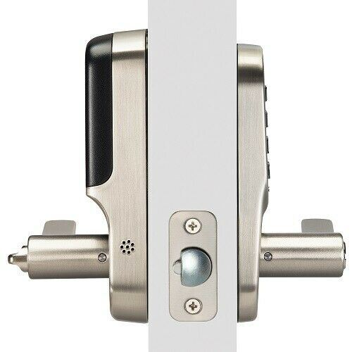 Yale YRL216-ZW2 Assure Smart Z-Wave Lever Keypad Door lock w/key override. - Designer Entryway door locks access control intercoms home automation