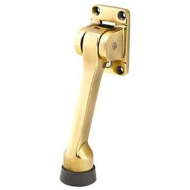 "-Emtek 2265 ""5"" Rubberized Kickdown Door Holder from the Door Accessories Collection - Designer Entryway door locks access control intercoms home automation"