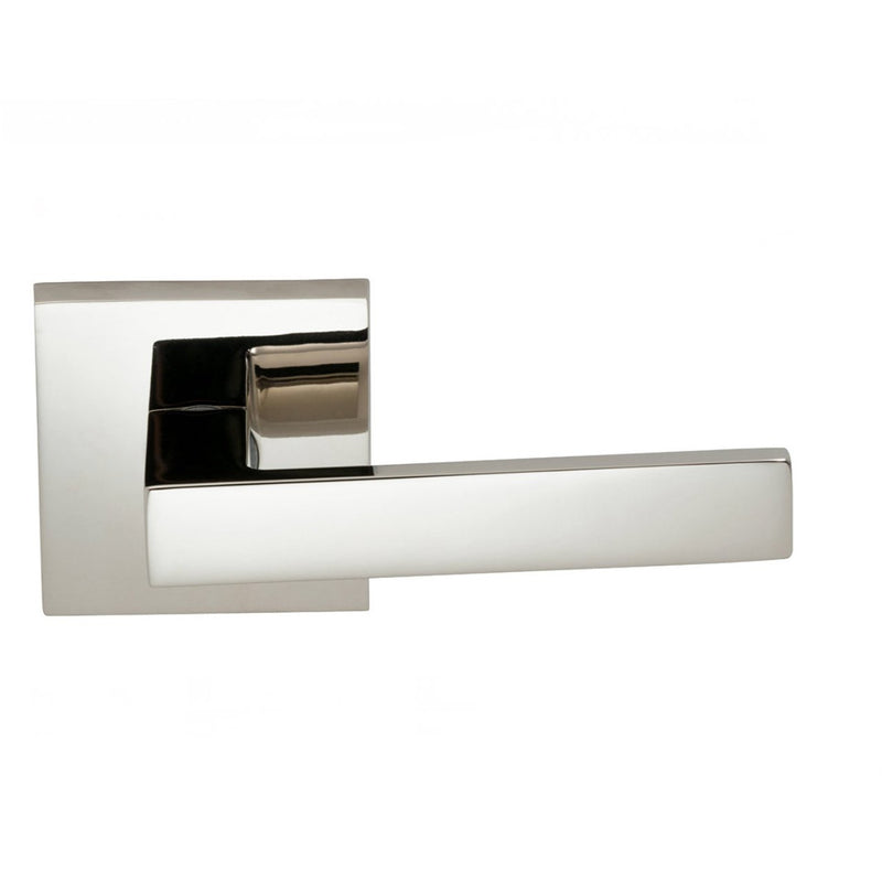 Omnia 930SQPD Square Dummy Door Lever Set with Square Style Rose from the Prodigy Collection - Designer Entryway door locks access control intercoms home automation