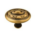 Belwith Keeler B073248 Tressé 1-5/8 Inch Long Solid Brass Mushroom Cabinet Knob - Designer Entryway door locks access control intercoms home automation