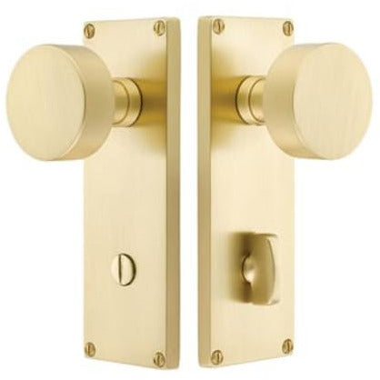 -Emtek 8229 3-3/8 Inch Center to Center Privacy Entry Set from the Contemporary Collection - Designer Entryway door locks access control intercoms home automation