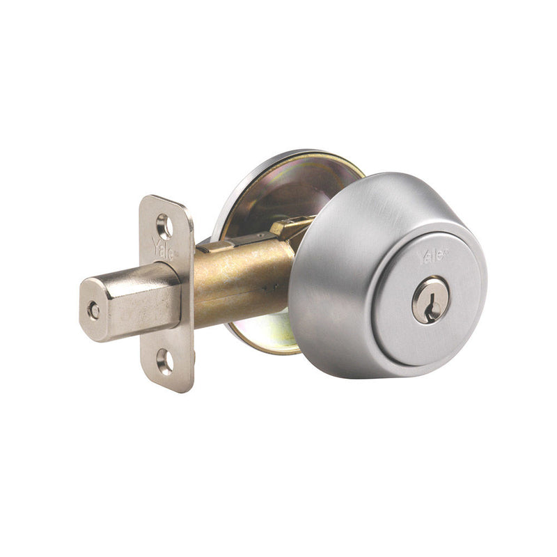 YALE Keyed Entry 83 Single Cylinder Deadbolt - Designer Entryway door locks access control intercoms home automation
