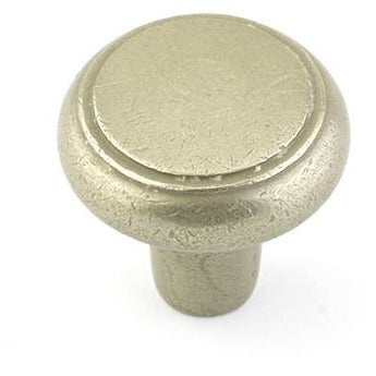 Emtek 86340 Barn 1-3/4 Inch Diameter Mushroom Cabinet Knob from the Rustic Collection - Designer Entryway door locks access control intercoms home automation