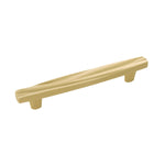 Belwith Keeler B072341 Caspian 5 Inch Center to Center Solid Brass Bar Cabinet Pull - Designer Entryway door locks access control intercoms home automation