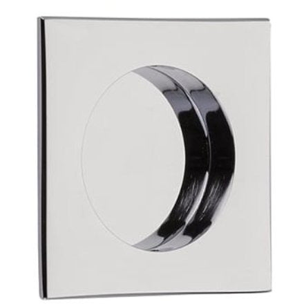 -Emtek 2213 2-1/2 Inch Square Flush Door Pull - Designer Entryway door locks access control intercoms home automation
