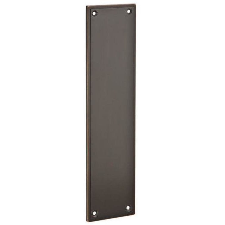 -Emtek 86436 3 Inch x 12 Inch Modern Push Plate - Designer Entryway door locks access control intercoms home automation