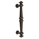 -Emtek 86168 8 Inch Tuscany  Bronze Recoleta Door Pull - Designer Entryway door locks access control intercoms home automation