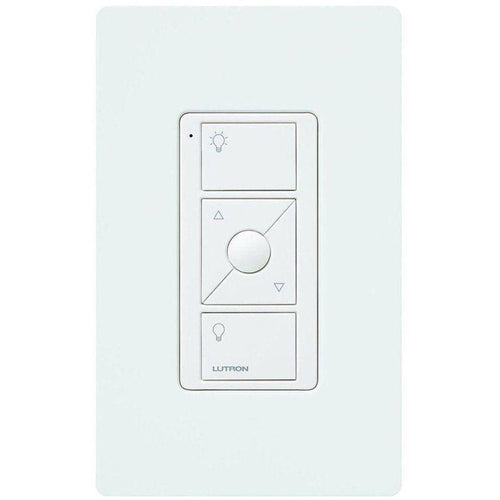 Lutron Caseta Wireless Pico Wall-Mounting Kit, White PJ2-WALL-WH-L01