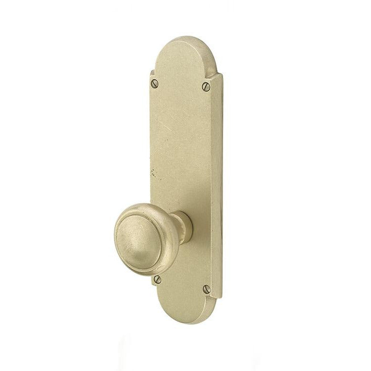 Emtek 7757 Style #5 Sideplate Dummy Set. - Designer Entryway door locks access control intercoms home automation