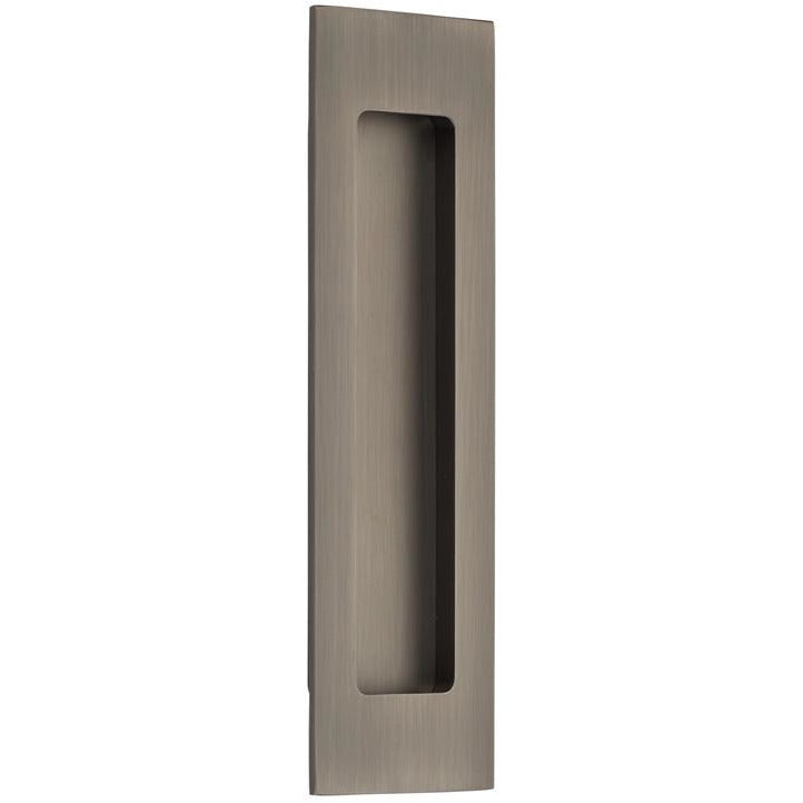 Emtek 220307 Tall Rectangular Flush Door Pull. - Designer Entryway door locks access control intercoms home automation