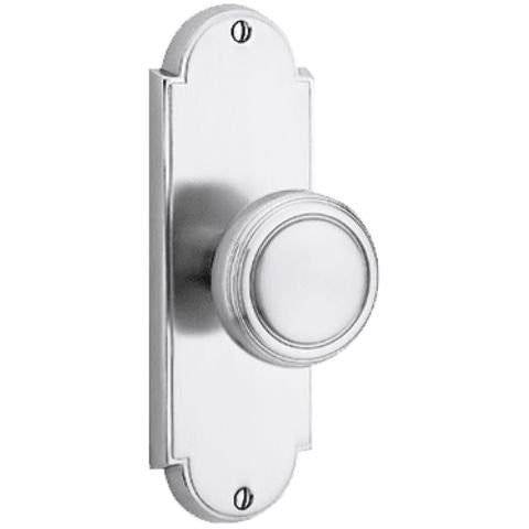 Emtek 8016 Delaware w/Tall Backplate Passage EntrySet. - Designer Entryway door locks access control intercoms home automation