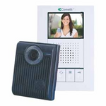 Comelit HFX-700M Hands Free Color Video Intercom Kit 2-wire installation. - Designer Entryway door locks access control intercoms home automation