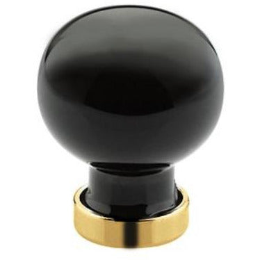 Emtek 86533 Bristol 1 Inch Diameter Round Cabinet Knob from the Crystal And Porcelain Collection - Designer Entryway door locks access control intercoms home automation