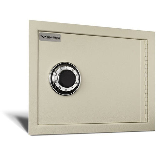 AMSEC WS1014 Wall Safe w/ Combination Lock - Designer Entryway door locks access control intercoms home automation