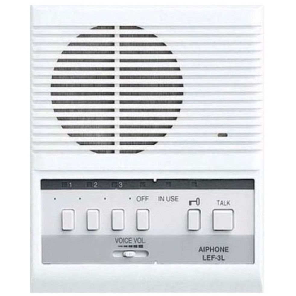 Access Control Designer Entryway Aiphone Lef 3l Wiring Diagram Call Audio Intercom Master Station W Selective Door Release