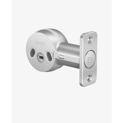 "Level Lock Bolt C-B11U 2-3/8"" Backset Invisible Retrofit Smart Door Lock - Designer Entryway door locks access control intercoms home automation"