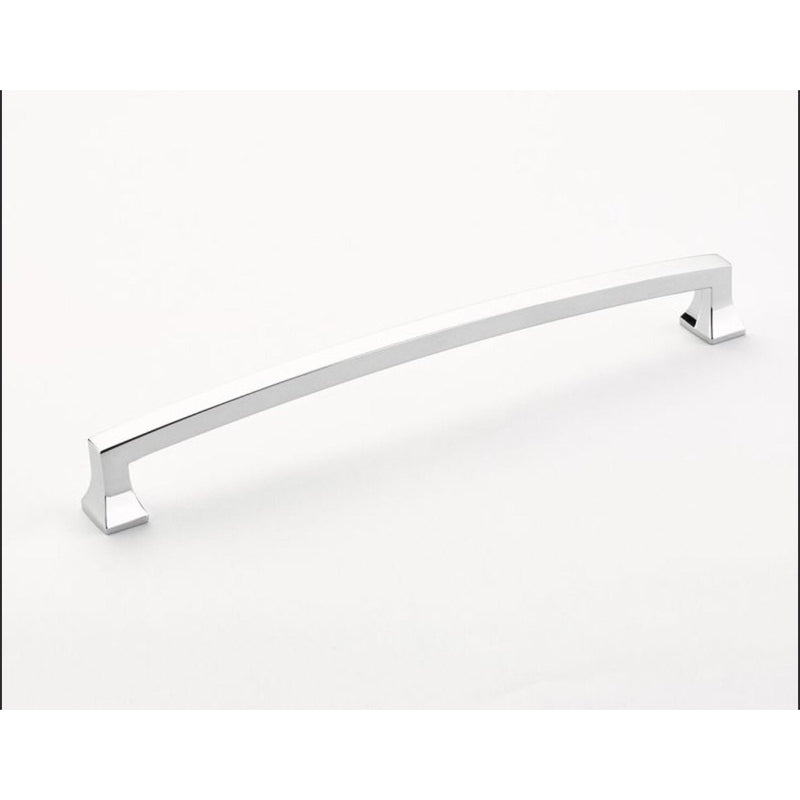 Schaub and Company 540 Menlo Park 8 Inch Center to Center Handle Cabinet Pull with Squared Corners - Designer Entryway door locks access control intercoms home automation