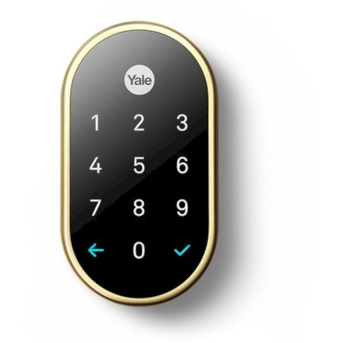 Nest X Yale Digital Door Lock RB-YRD540-WV. - Designer Entryway door locks access control intercoms home automation