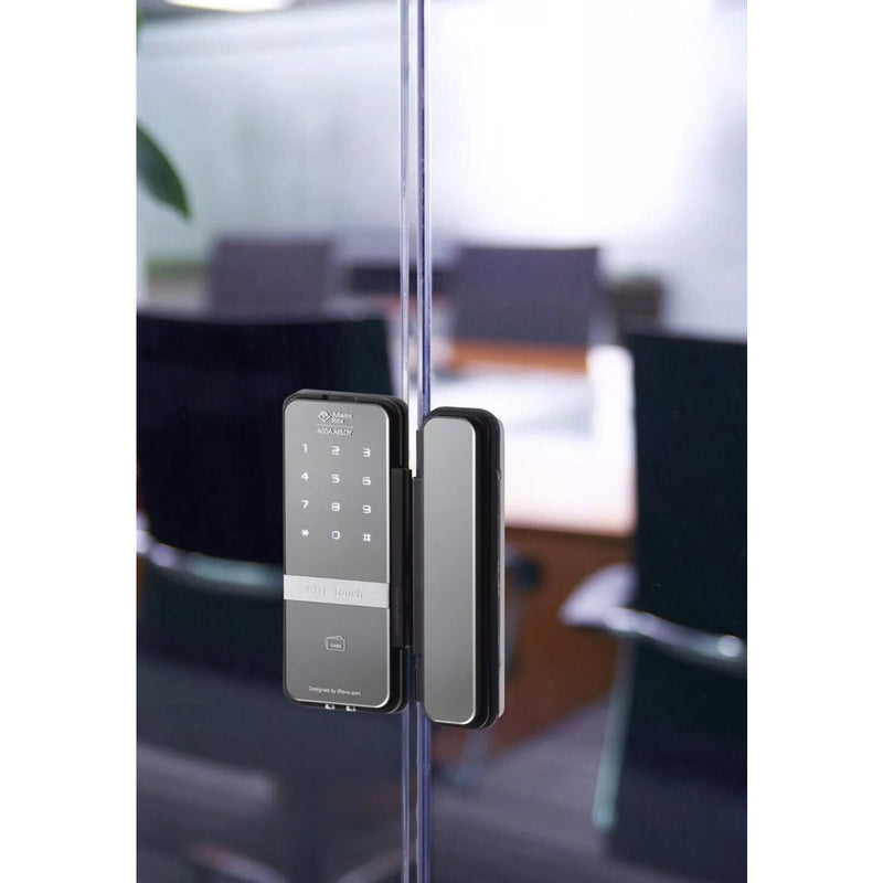 Adams Rite Touch RT1050D Digital Glass Door Lock RiteTouch - Designer Entryway door locks access control intercoms home automation