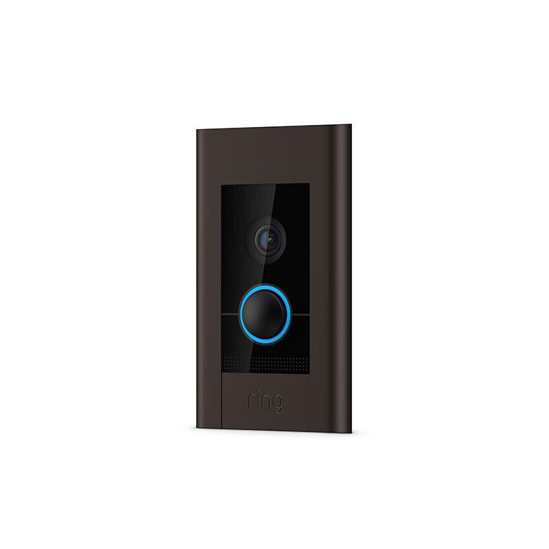 Ring ELITE | In Wall POE/WiFi Camera 4 Color Change Kit Included 1080P. - Designer Entryway door locks access control intercoms home automation