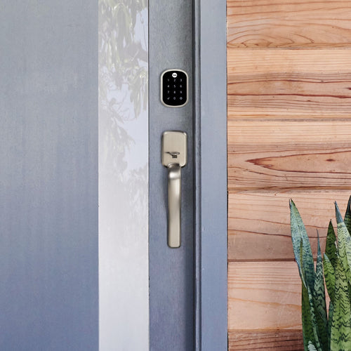 Yale Assure SL Touchscreen Deadbolt w/Ridgefield Handleset connected by august - Designer Entryway door locks access control intercoms home automation