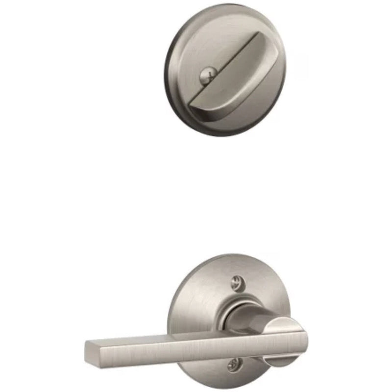 Schlage F59-LAT Latitude Single Cylinder Interior  ( For Active Handleset ) - Designer Entryway door locks access control intercoms home automation