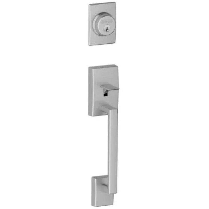 Schlage F92-CEN Century Dummy Exterior ( Inactive ) Handleset from the F-Series - Designer Entryway door locks access control intercoms home automation