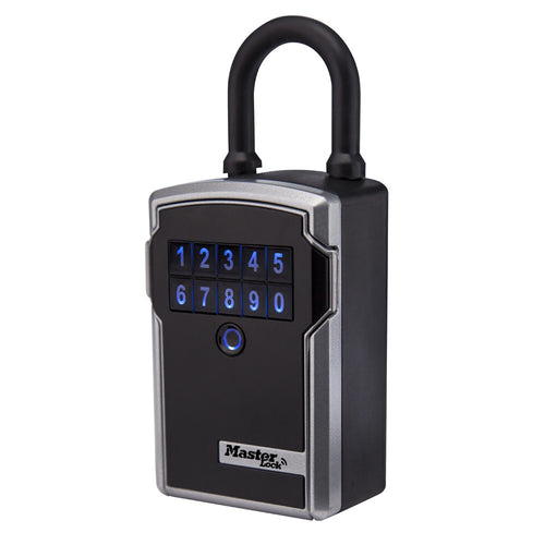 Master Lock 5440D 3-1/4-inch Wide Electronic Portable Lock Box - Designer Entryway door locks access control intercoms home automation