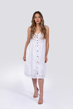 Everly Dress - White