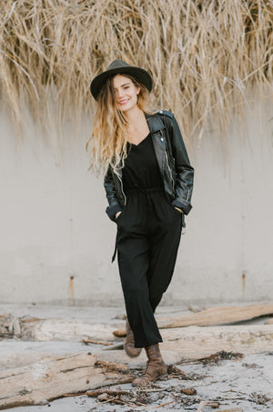 Juliette Jumpsuit |  Black