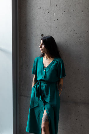 Keandra Dress | Emerald
