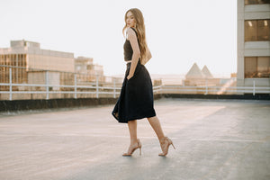 Penelope Skirt | Navy