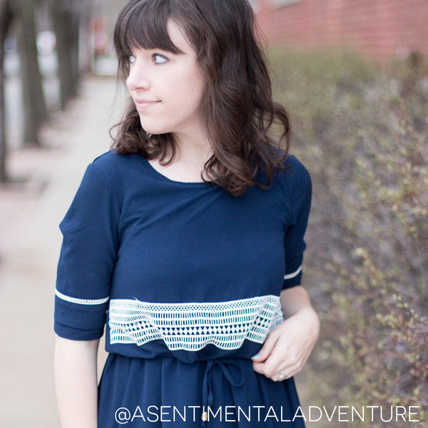 chicago fashion blogger a sentimental adventure wearing molly bracken from novelstyle shop