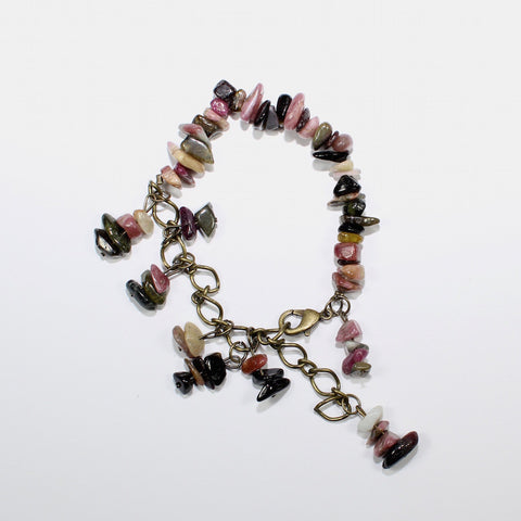 Handmade Charming bracelet with stones and charms from Novelstyle