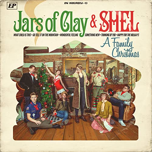 Family Christmas with Jars of Clay (CD or Vinyl)