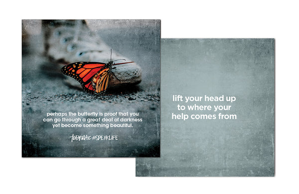 #SPEAKLIFE Spread Hope Cards