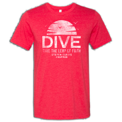 Heather Red Dive Sun T-shirt
